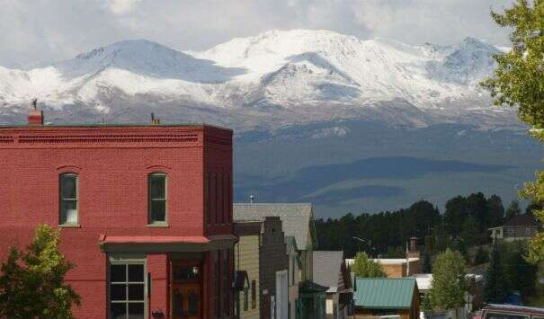 Colorado Mountain College, Leadville, Colorado (elev. 10,152 feet)