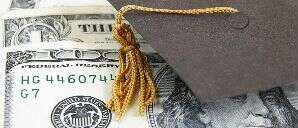 money and graduation hat