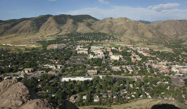 Colorado School of Mines, Golden, Colorado (elev. 5,675 feet)