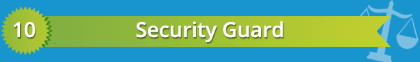 best criminal justice careers security guard