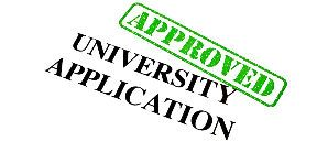 university application file