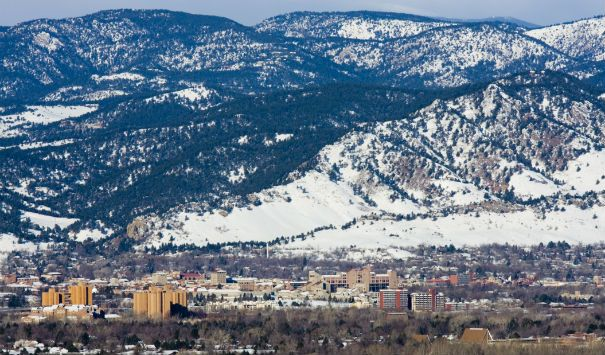 University of Colorado, Boulder, Colorado (elev. 5,430 feet)