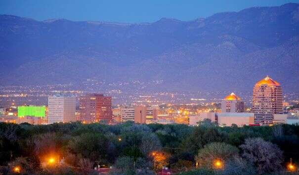 University of New Mexico, Albuquerque, New Mexico (elev. 5,312 feet)