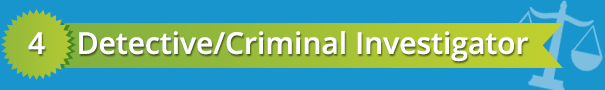 best criminal justice careers detective