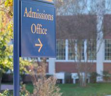 College admissions and finances